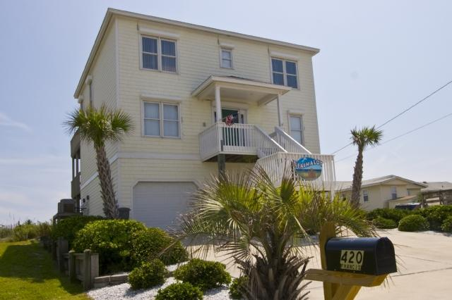 420 N Shore Dr - N. Shore Dr. 420 Oceanfront! | Jacuzzi, Elevator, Internet, Game Equipment Discounts Available- See Description!! - Surf City - rentals