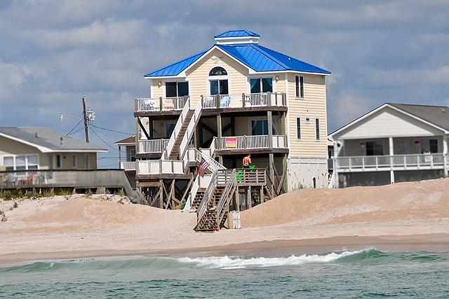 I'm on a boat! - Seashore Drive 330 Oceanfront! | Internet Discounts Available- See Description!! - North Topsail Beach - rentals