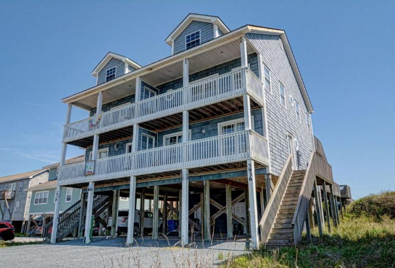 3936 Island Dr - Island Drive 3936 Oceanfront!   Internet, Pet Friendly - North Topsail Beach - rentals