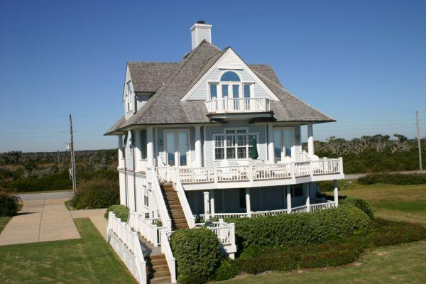 Main View - Island Drive 4230 Oceanfront!   Internet, Community Pool, Jacuzzi, Fireplace - North Topsail Beach - rentals