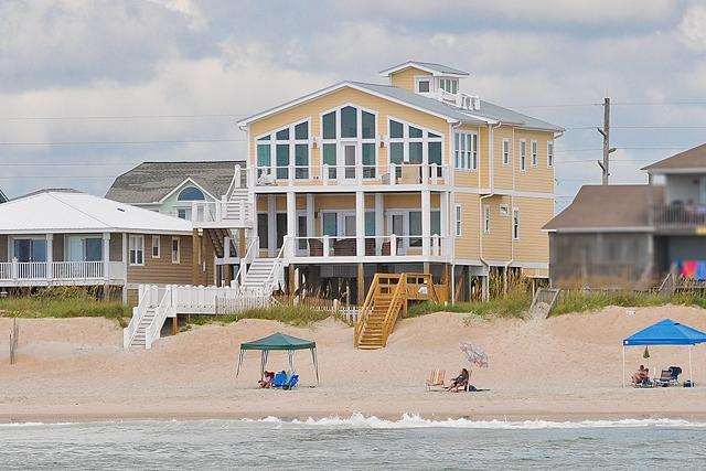 I'm on a boat! - S. Shore Drive 1328 Oceanfront! | Private Pool, Hot Tub, Elevator, Game - Surf City - rentals