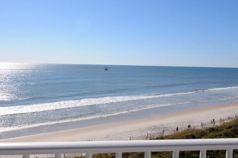 View From Your Balcony - St. Regis 2507 Oceanfront! | Indoor Pool, Outdoor Pool, Hot Tub, Tennis Courts, Playground  Discounts Available- See Description!! - North Topsail Beach - rentals