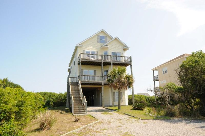 2060 New River Inlet Road - New River Inlet Rd 2060 Oceanview! | Hot Tub, Jacuzzi, Internet, Electric Fireplace - North Topsail Beach - rentals