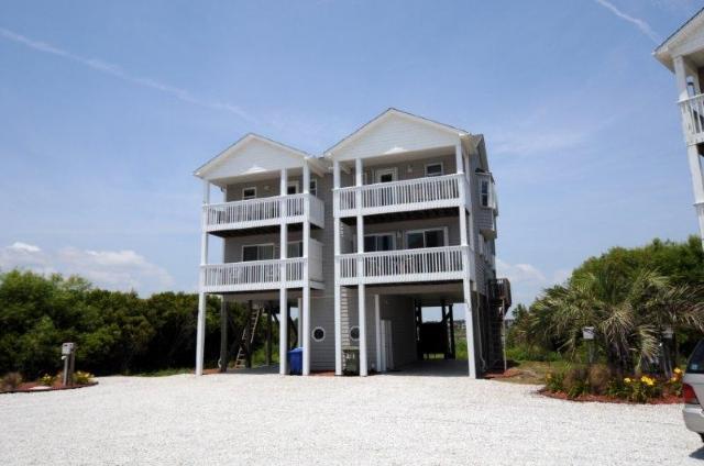 213 Pinellas Bay - Pinellas Bay 213 Oceanview! | Jacuzzi, Internet - North Topsail Beach - rentals