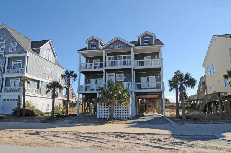 424 New River Inlet Road - New River Inlet Rd 424 Oceanfront! | Private Pool, Jacuzzi, Internet Discounts Available- See Description!! - North Topsail Beach - rentals