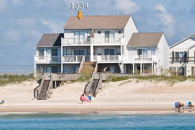I'm on a boat! - New River Inlet Rd 1334-30 Oceanfront! | Internet, Jacuzzi - North Topsail Beach - rentals