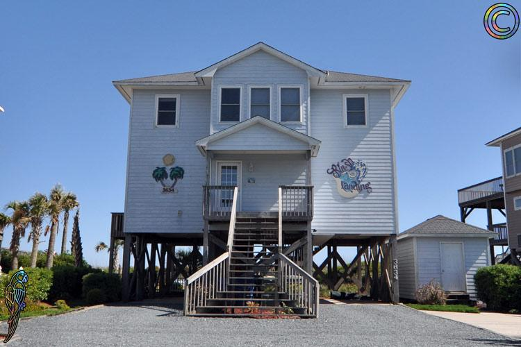 3634 Island Dr - Island Drive 3634 Oceanfront! | Private Heated Pool, Hot Tub, Fireplace, Internet - North Topsail Beach - rentals