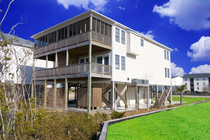 101A Bay St - Bay Street 101A Sound View! | Internet - Surf City - rentals