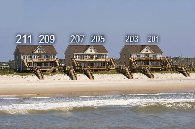 Goldsboro Lane - Goldsboro Lane 209 Oceanfront! | Hot Tub, Internet, Jacuzzi Discounts Available- See Description!! - North Topsail Beach - rentals