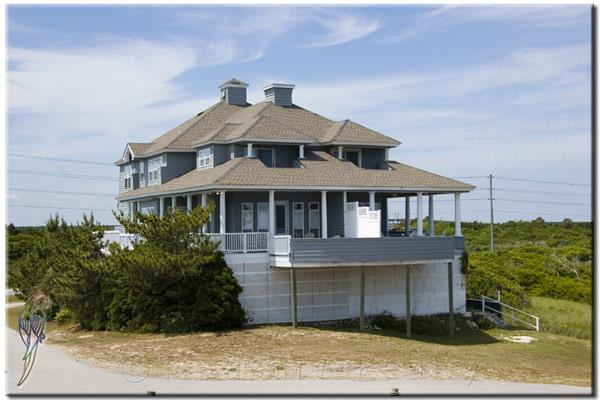 Main View - Hampton Colony 402 Oceanfront-B Lot! | Community Pool, Internet, Jacuzzi - North Topsail Beach - rentals