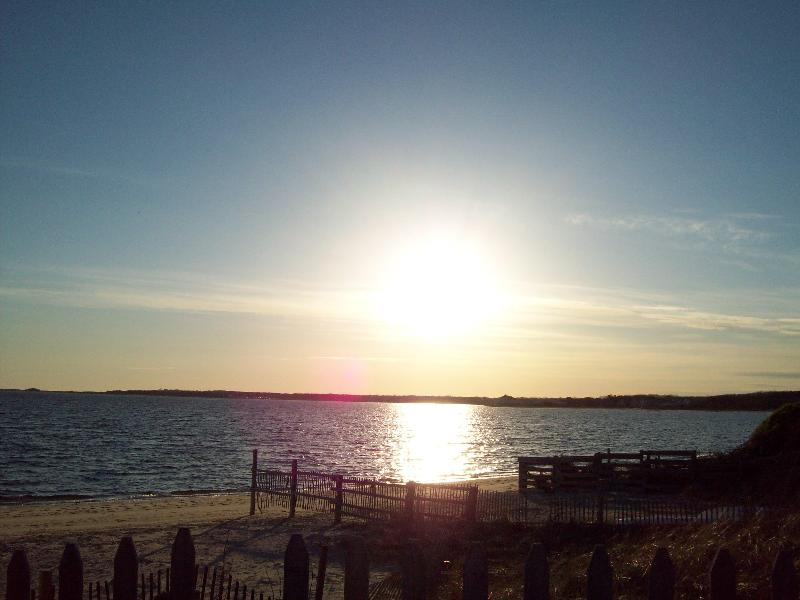 Sunset on our Beach - West Yarmouth Beach House /200 yards from ocean - West Yarmouth - rentals