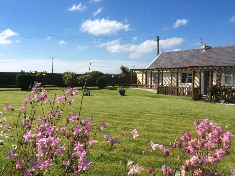 Cottage 2 from garden - Ballaterson Beg Cottages - Self Catering - Ramsey - rentals