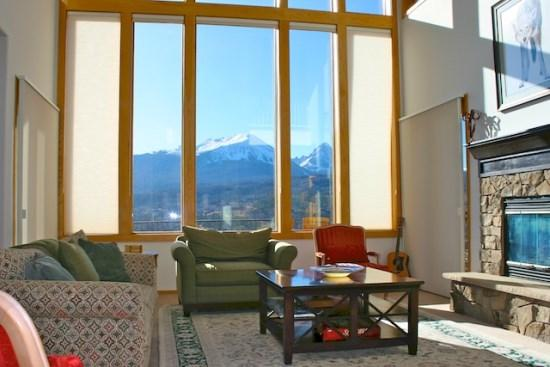 Living room as you enter Ansels View - Ansel`s View - Picture Perfect Views! - Silverthorne - rentals