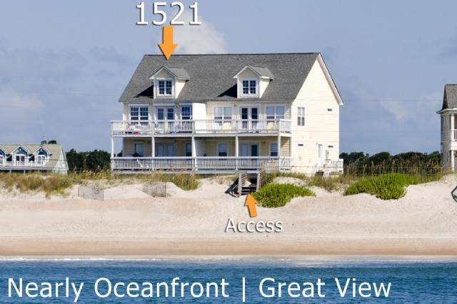 1521 New River Inlet Road | Unobstructed View - New River Inlet Rd 1521 -4BR_SFH_OV_10 - North Topsail Beach - rentals