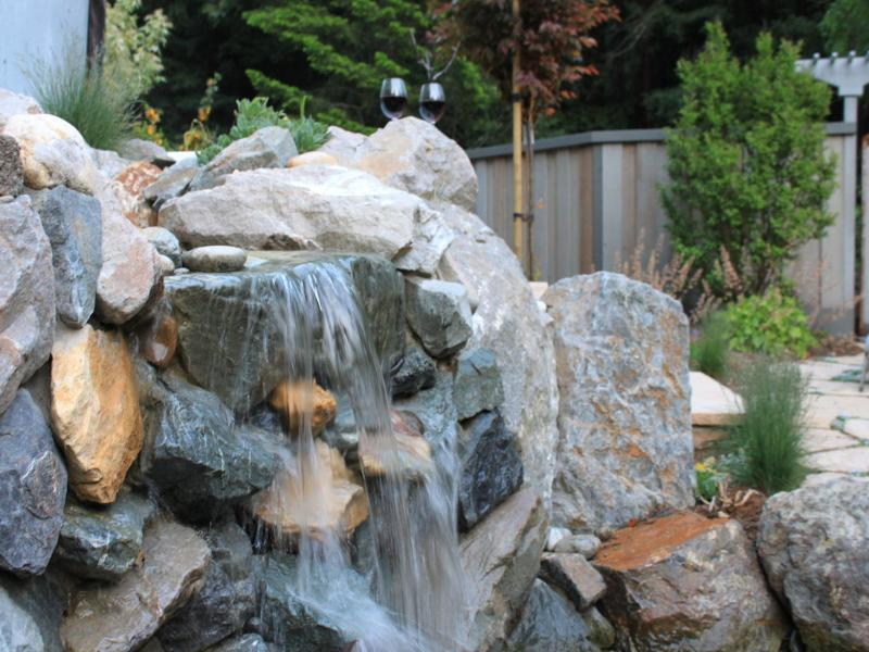 Shhh...listen - The Cottage at Where Water Falls - Loma Mar - rentals