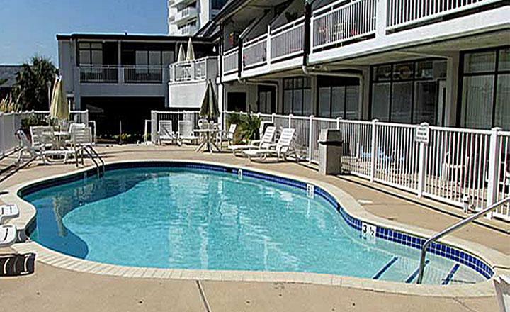 Pool side Studio  Ocean View Virginia Beach #109 - Image 1 - Virginia Beach - rentals
