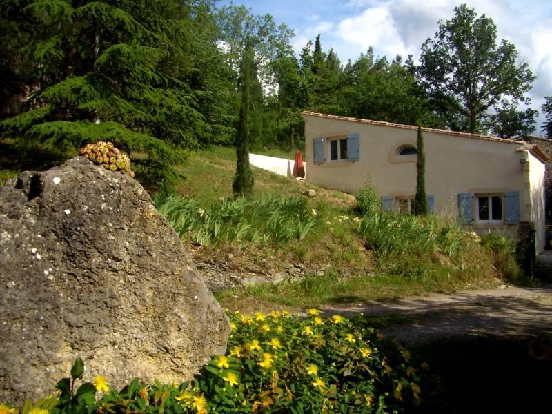 The Grange - luxury house, big pool, romantic grounds and views - Bouriege - rentals