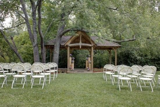 Cherry Log Pavilion-Events Venue-CALL OFFICE FOR PRICING AND BOOKING-Now Available for Weddings and Reunions-Banquet Room with Fireplace-Full Kitchen-Men and Women`s Restroom`s-Creek - Image 1 - Blue Ridge - rentals
