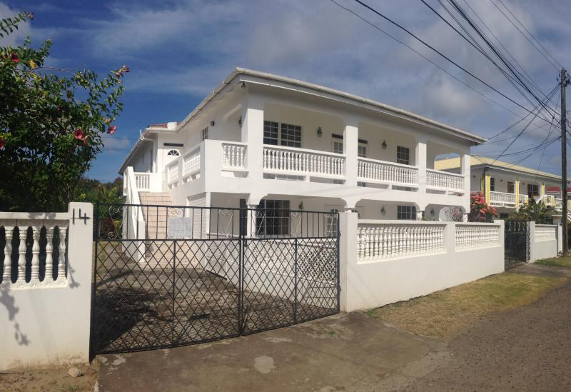 Front of house - Ground floor - 3 BR, 3 Bath, Private Garden - Gros Islet - rentals