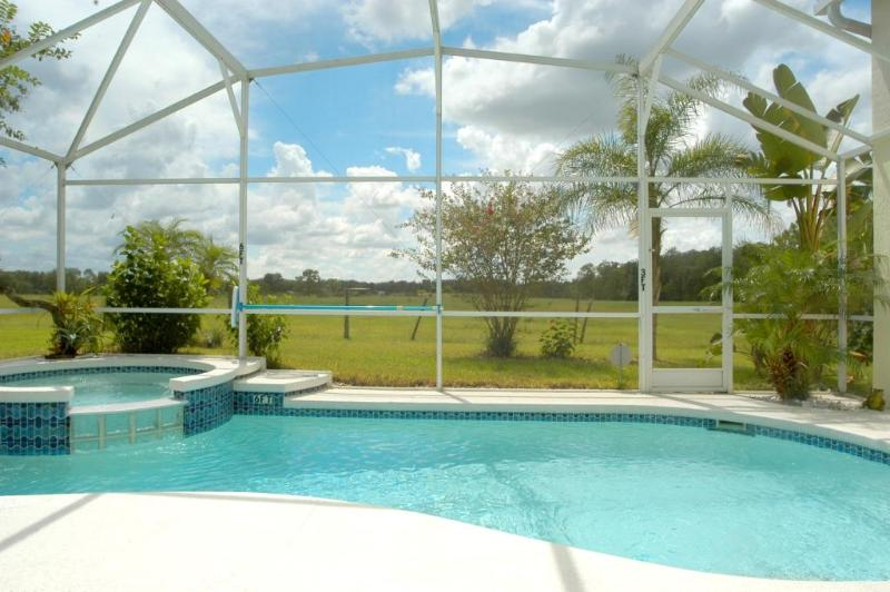 4BR Luxury SF Pool/Free SPA Heat/BBQ/WiFi by Disney - Image 1 - Davenport - rentals