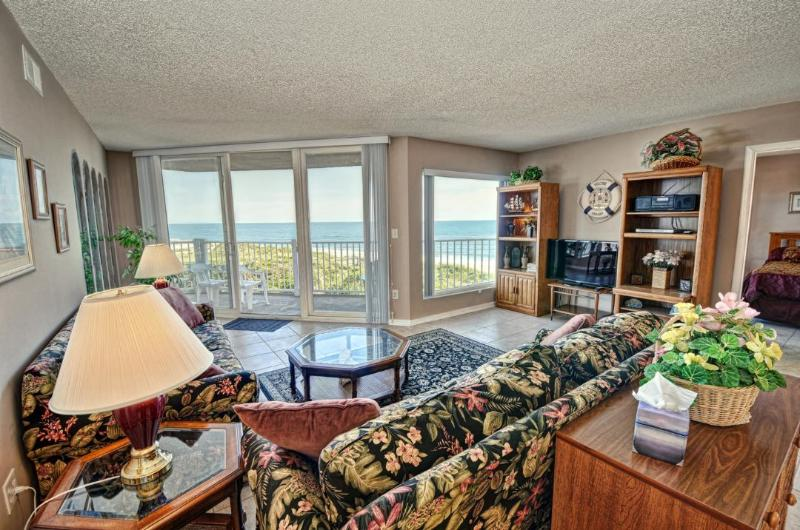 Living Room - St. Regis 3209 -2BR_6 - North Topsail Beach - rentals