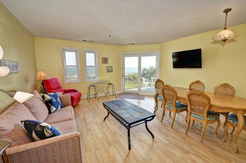 Living Room - Villa Capriani 113-B -3BR_8 - North Topsail Beach - rentals