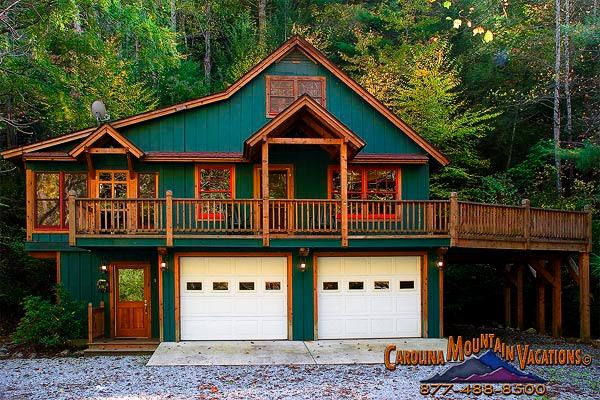 Alarka's Lure vacation cabin - Image 1 - Bryson City - rentals