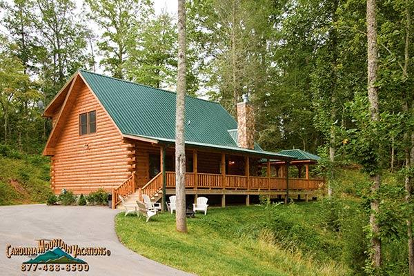 Bear's Way Log Cabin - Image 1 - Bryson City - rentals