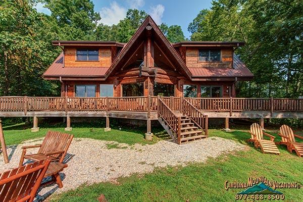 Deja View Log Cabin - Image 1 - Bryson City - rentals