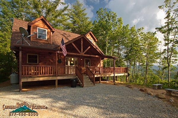 Majestic Pines log cabin - Image 1 - Bryson City - rentals