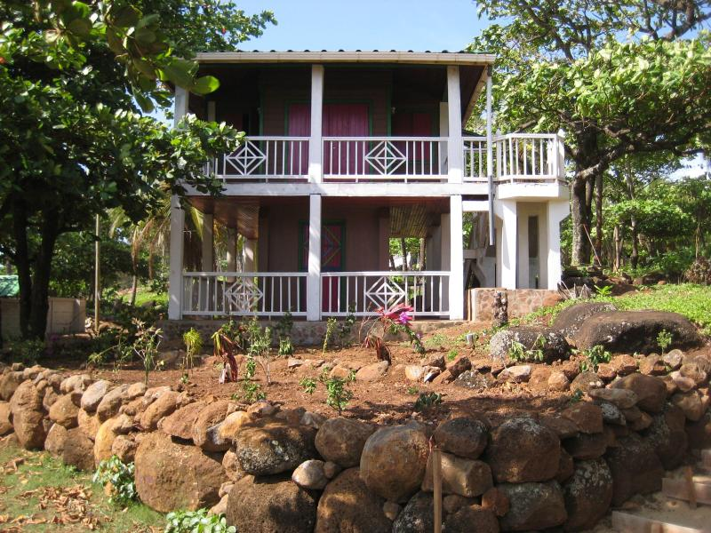 Balcony overlooking beach - Treehouse Overlooking  Beach - Corn Islands - rentals