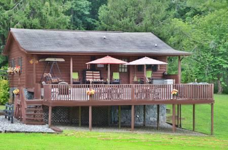 Meadowbrook Log Cabin - Image 1 - Bryson City - rentals