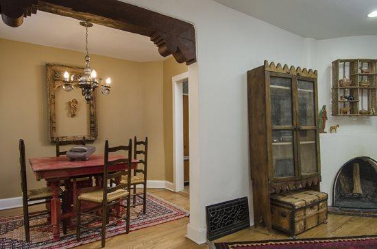 Living/Dining - Casa Amigo - Santa Fe - rentals