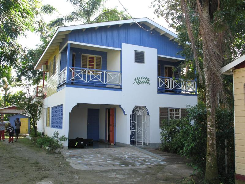 front view of house - Indikanegril beach house- Negril Jamaica - Negril - rentals