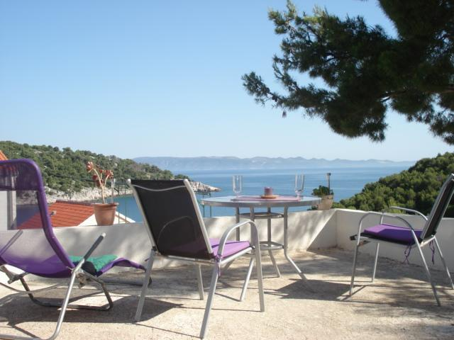 Modern villa near sea for rent, Milna, Brac - Image 1 - Cove Makarac (Milna) - rentals