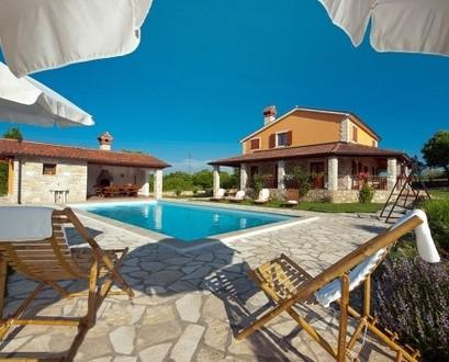 Holiday villa with pool for rent, in Rabac - Holiday villa in Rabac for rent - Rabac - rentals