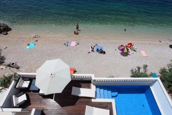 Seaside holiday villa with pool, Makarska riviera - Image 1 - Makarska - rentals