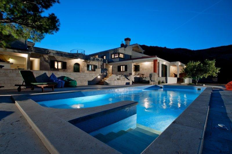 Premium, Panorama villa for rent, Trogir area - Image 1 - Trogir - rentals