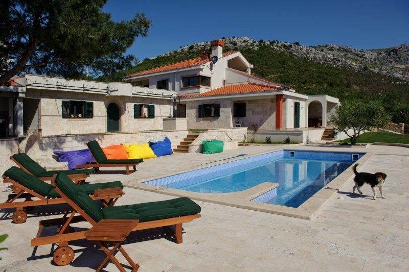 Panorama villa with pool for rent, Trogir area - Premium, Panorama villa for rent, Trogir area - Trogir - rentals