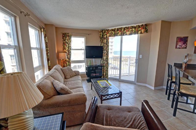 Living Area - St. Regis 2314 -1BR_6 - North Topsail Beach - rentals