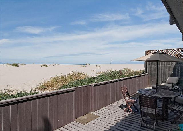 Back Patio - Oceanfront Gorgeous Home with Breathtaking Views! - Oxnard - rentals