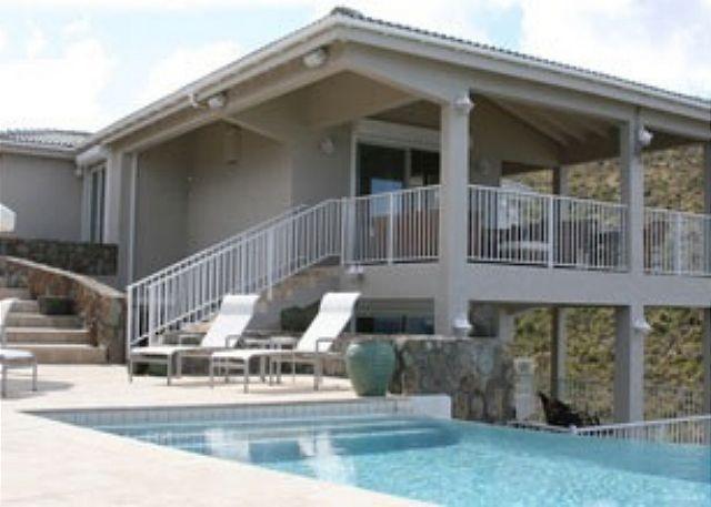 Stylish Villas with fabulous views overlooking Dawn Beach & St. Barths. - Image 1 - Saint Martin-Sint Maarten - rentals
