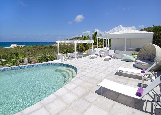 Breathtaking ocean views - Brand new Villa with ocean views, AC throughout and complete privacy - Saint Martin-Sint Maarten - rentals