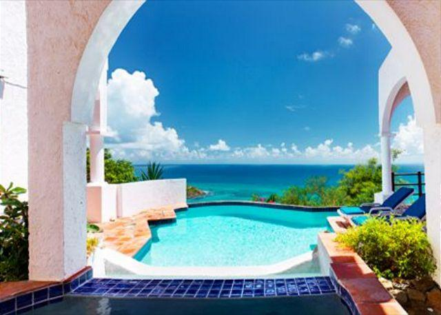 Spectacular views - Perfectly located on Oyster Pon Hill with Ocean view | Island Properties - Saint Martin-Sint Maarten - rentals