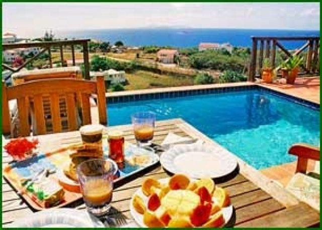 Private plunge pool - Moondance: Charming 2 bedroom villa overlooking the sea | Island Properties - Saint Martin-Sint Maarten - rentals