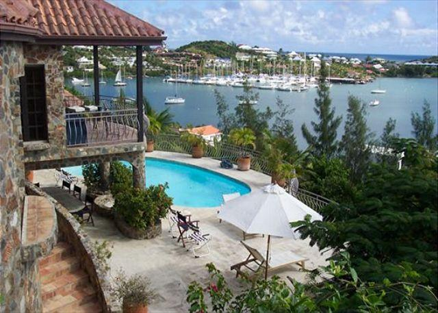 The Stone House at Oyster Pond is a celebration of geography and architecture - Image 1 - Saint Martin-Sint Maarten - rentals