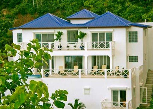 Twin Palms is a new luxury villa in the gated community of Dawn Beach Estate. - Image 1 - Saint Martin-Sint Maarten - rentals