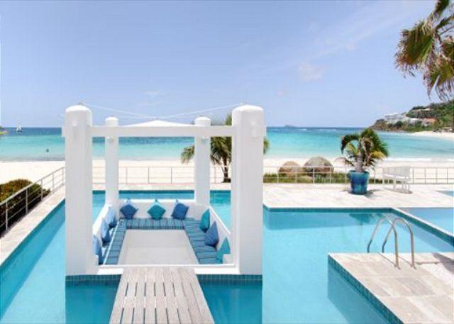 Gorgeous 3 Bedroom Beachfront Villa - Image 1 - Saint Martin-Sint Maarten - rentals