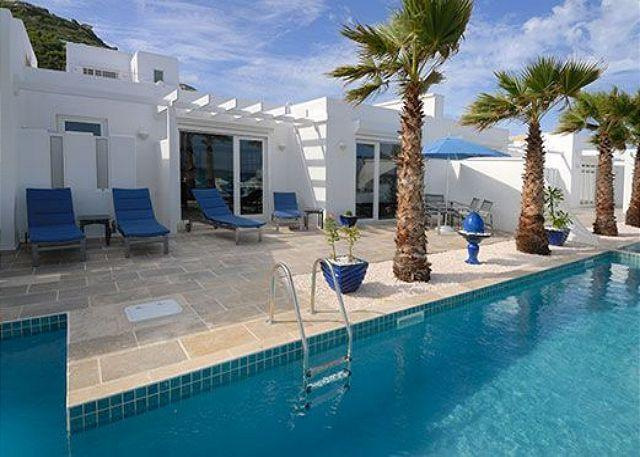 Private plunge pool  - Corinne : Gorgeous 3 Bedroom Villa on Dawn Beach | Island Properties Online - Saint Martin-Sint Maarten - rentals