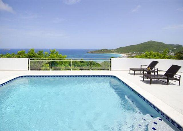 Private pool - Newly renovated 4 bedroom villa overlooking the ocean | Island Properties - Saint Martin-Sint Maarten - rentals